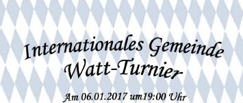 Internationales Gemeinde Watt-Turnier